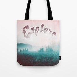Explore the Wild. Wanderlust Tote Bag