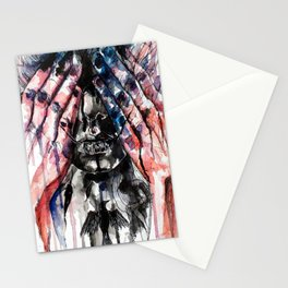 Metamorphosis-crow Stationery Cards