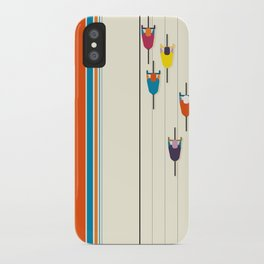 Never stop riding! iPhone Case