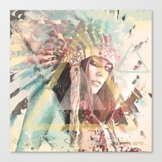 IND Girl Canvas Print