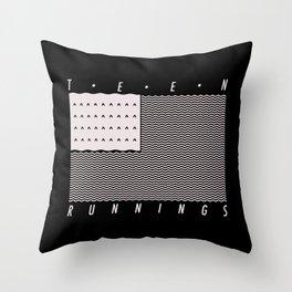 WSA BLACK Throw Pillow