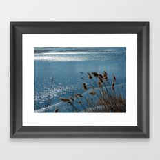 Layering with Ice Framed Art Print
