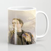 stargate Mugs featuring Goodbye Carson by Samy