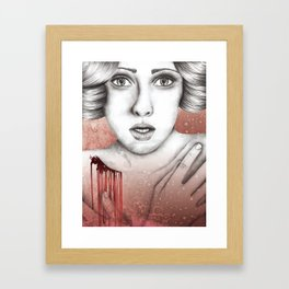 Sleeping Beauty Framed Art Print
