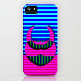 A crazy thing with stripes ... iPhone Case