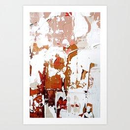 blush abstract. 03 Art Print