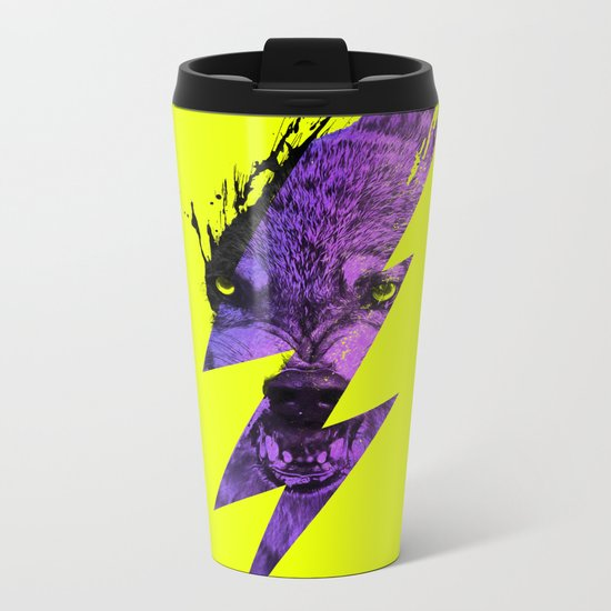 Thunderwolf Metal Travel Mug