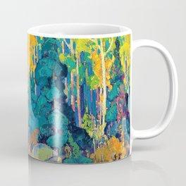 Franklin Carmichael - Autumn Hillside - Digital Remastered Edition Coffee Mug
