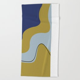Esthetic Waves Beach Towel