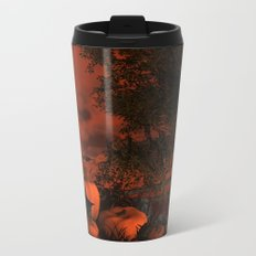 Approaching Halloween Metal Travel Mug