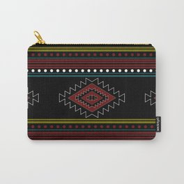 native pattern Carry-All Pouch