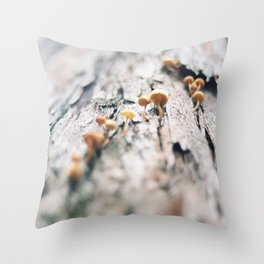 Forest Finds - III Throw Pillow
