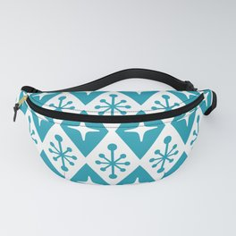 Mid Century Modern Atomic Triangle Pattern 119 Fanny Pack