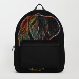 Colourful Neon Elephant Backpack