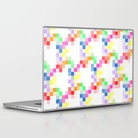 pixel Laptop & iPad Skins featuring Pixel by AJJ ▲ Angela Jane Johnston