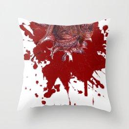 Chestburster Throw Pillow