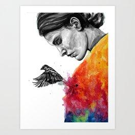 Goodbye depression Art Print