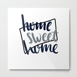 Home Sweet Home Connecticut Metal Print
