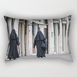 Roma, suore | Rome, nuns Rectangular Pillow