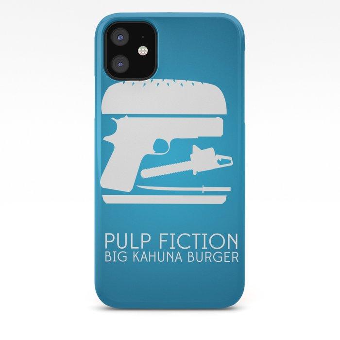 Pulp Fiction Poster iphone case