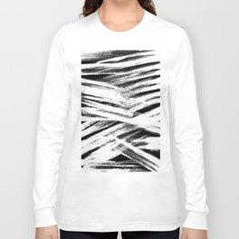 White brush Long Sleeve T-shirt
