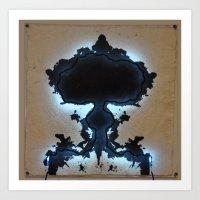 Rorschach No. 2 Art Print