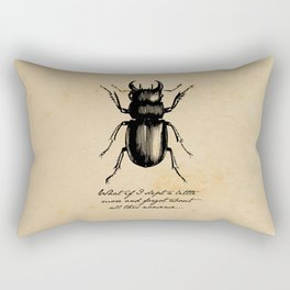 The Metamorphosis - Franz Kafka Rectangular Pillow