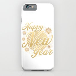 New Year Party Night iPhone Case