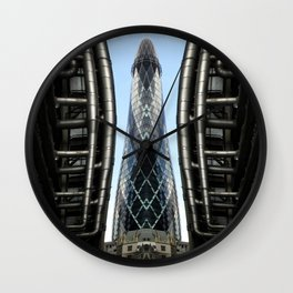 Modern Monolith  Wall Clock