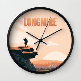 Longmire: Out West Wall Clock