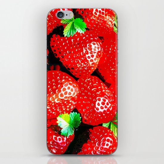 STRAWBERRY for IPhone iPhone & iPod Skin