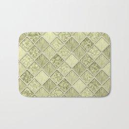 Colorful Seamless Rectangular Geometric Pattern III Bath Mat