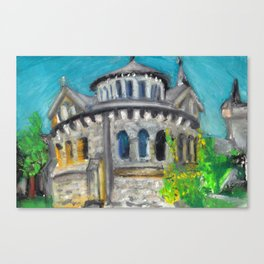 U of T Roundhouse Canvas Print