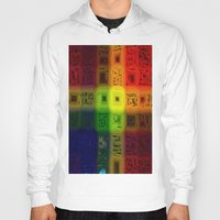 matrix Hoodies featuring Abdon Matrix by RingWaveArt