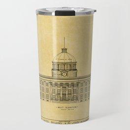 Alabama State Capitol 1851 Travel Mug