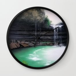 Hamilton Pool Wall Clock