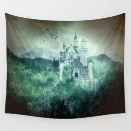 The dark fairytale - Bavarian Fairytale Castle Wall Tapestry