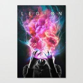 Legion Comics Canvas Print