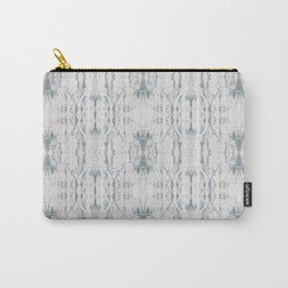 Pattern in Grey and White Carry-All Pouch
