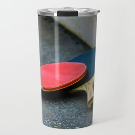 Table tennis bats. Travel Mug