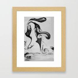 Form Ink No. 24 Framed Art Print
