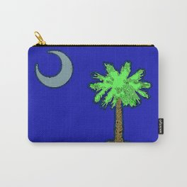 Fancy Flag:  South Carolina Carry-All Pouch