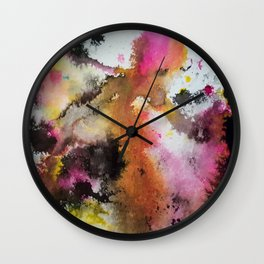 Spring time Faerie Wall Clock