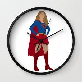 I am Supergirl Wall Clock