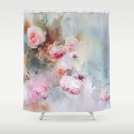 FLORAL PATTERN14 Shower Curtain
