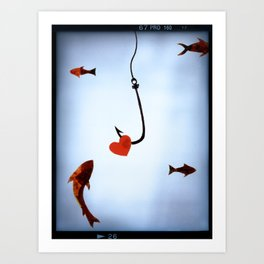 Hooked, Lined, Sinkered Art Print