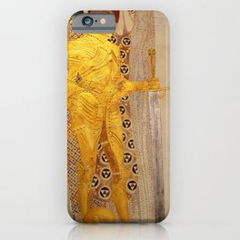 The Golden Knight - Gustav Klimt iPhone Case