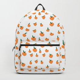 Orange Peaches Backpack