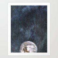earth Art Prints featuring Earth by Arthur Raffin