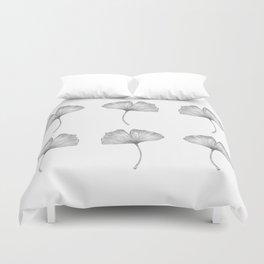 Ginkgo biloba pattern I Duvet Cover